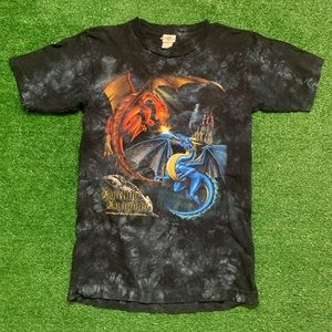 Vintage Dueling Dragons Universal Studios Shirt
